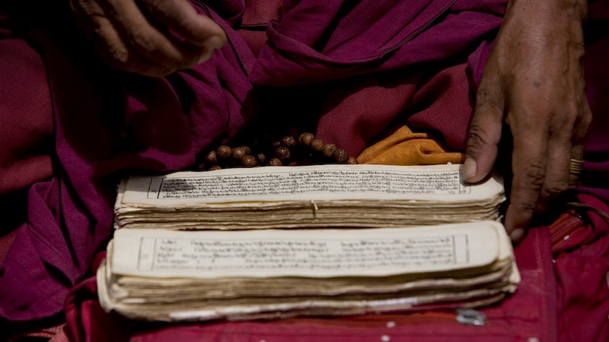 Buddhist prayer book