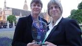 Professor Jenny Kitzinger (Left) and York University's Professor Celia Kitzinger