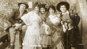 Geraldine Farrar as Carmen with cast, New York 1914