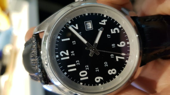 Watch with prototype surround