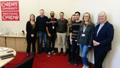 Rutherford fellows and their supervisors visiting Systems Immunity Research Institute