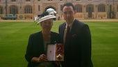 Dame Teresa Rees receiving DBE