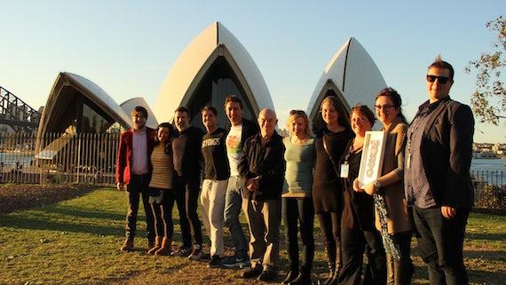 Ceri Elen in Australia