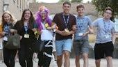 Sutton Trust image - teens walking