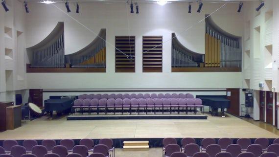 Music concert hall