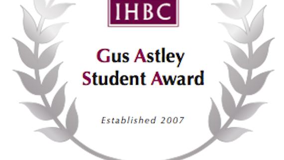Gus Astley Award Logo