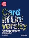 Undergraduate prospectus 2020