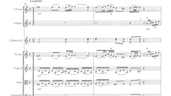 Seyfried, Fantasy in C minor, first movement
