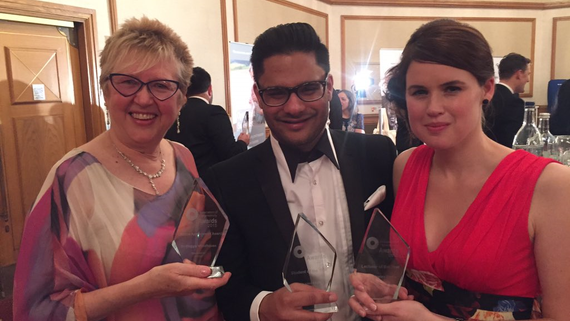 Cardiff hat trick at the AOP Awards!