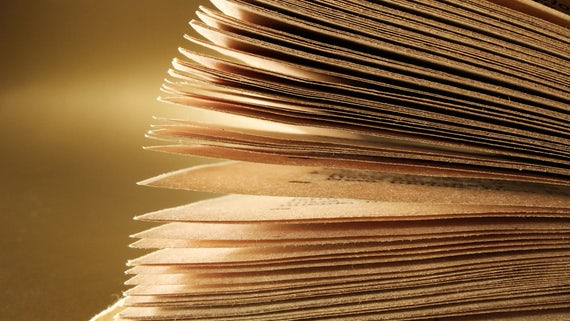 Close up book pages