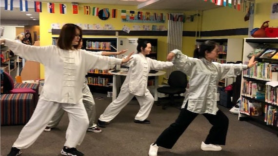 Tai Chi with the Confucius Institute