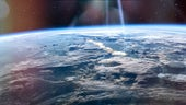 Stock image of Earth from space