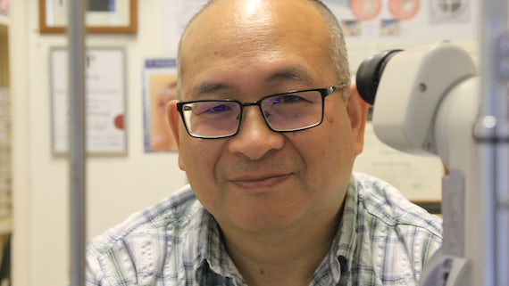 Pete Hong awarded MBE