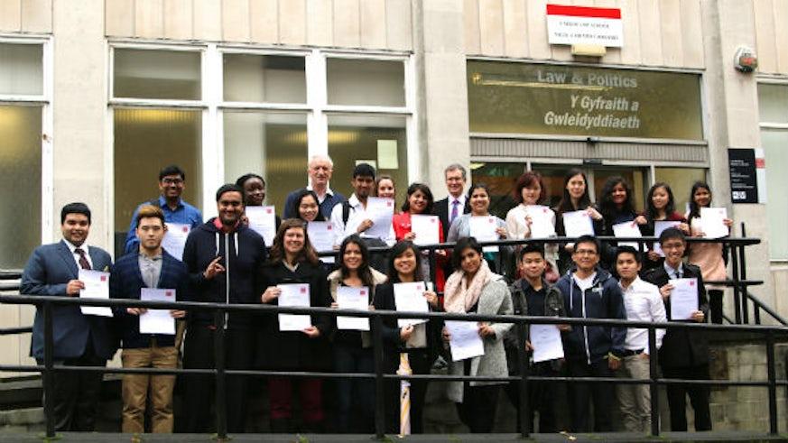 Law school international scholarship winners