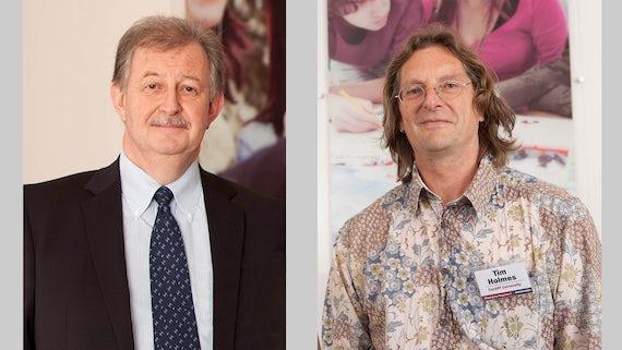 Duncan Bloy a Tim Holmes