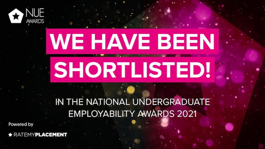 Shortlisted for NUE Awards graphic