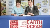 School signs agreement with British Geological Survey