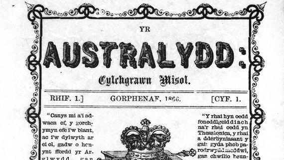 Yr Australydd: cylchgrawn misol, 1866