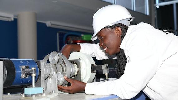 Engineering student in Nigeria