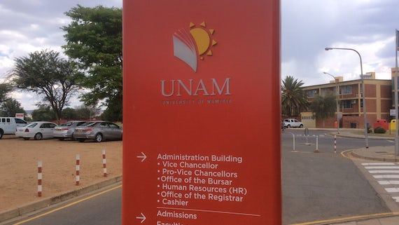 University of Namibia (Signage)