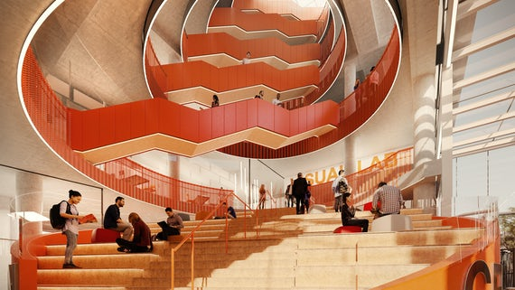 Innovation Campus - Staircase