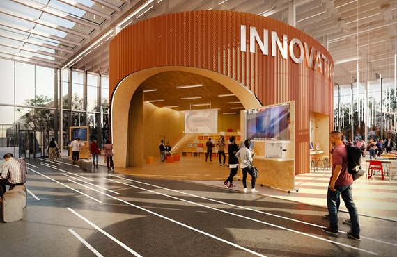 Inside the new Innovation Centre