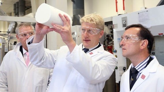 Jo Johnson MP visits Cardiff Uni