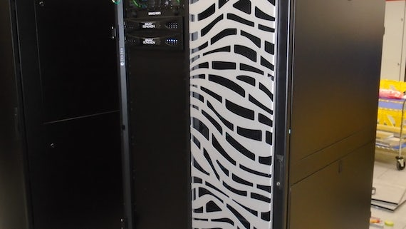 Supercomputer Isambard delivery to Met Office