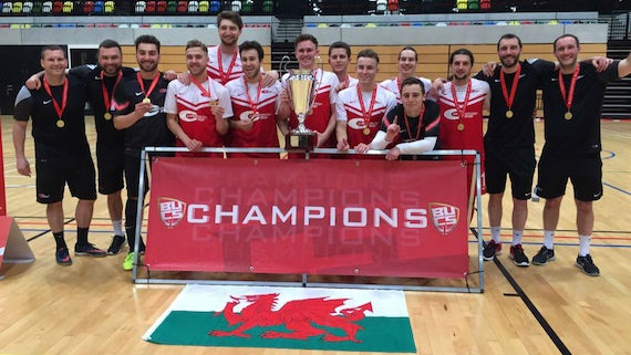BUCS Champions - Cardiff University Men's Futsal Team