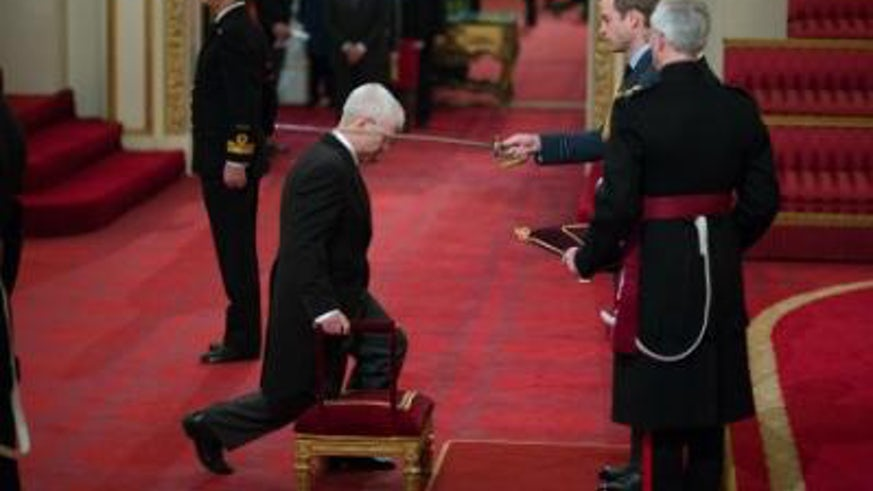 Mike Owen Knighted