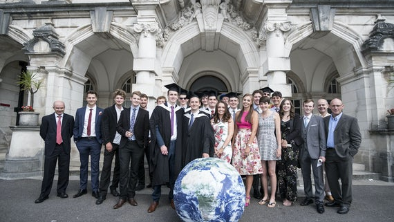 School of Earth and Ocean Science 2017 graduates