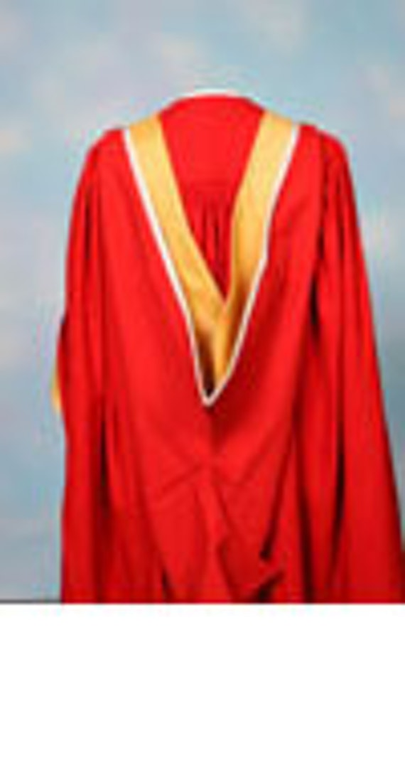 Image of a Senior Doctorate Gown