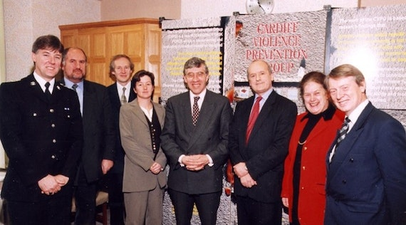 Image of the Cardiff Model team