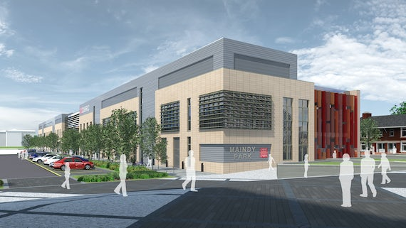 Artist's impression of the new CUBRIC building