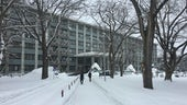 Hokkaido University engineering department building