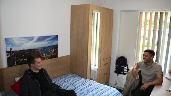 Ystafell wely en-suite