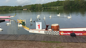 Dragon Boats on Cosmeston Lakes