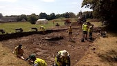 Excavation at Cosmeston
