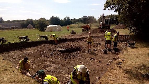 Excavation at Cosmeston
