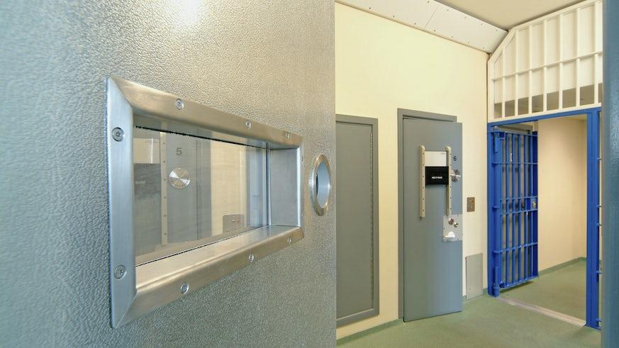 Inside a modern prison