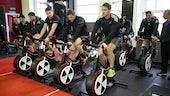 All Blacks Training bikes