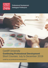 Short CPD Courses brochure (Summer/Winter 2019)
