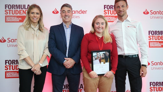 Silverstone win for Cardiff engineering student