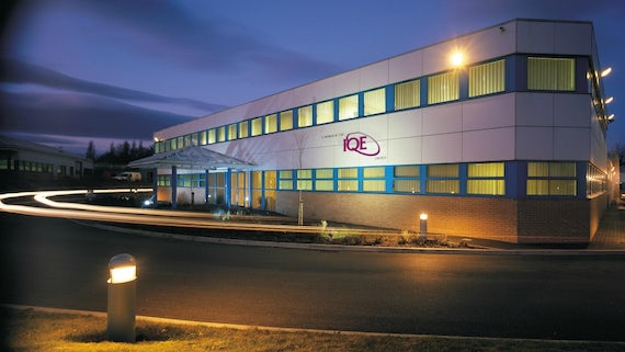 IQE plc Headquarters Building exterior Cardiff, UK