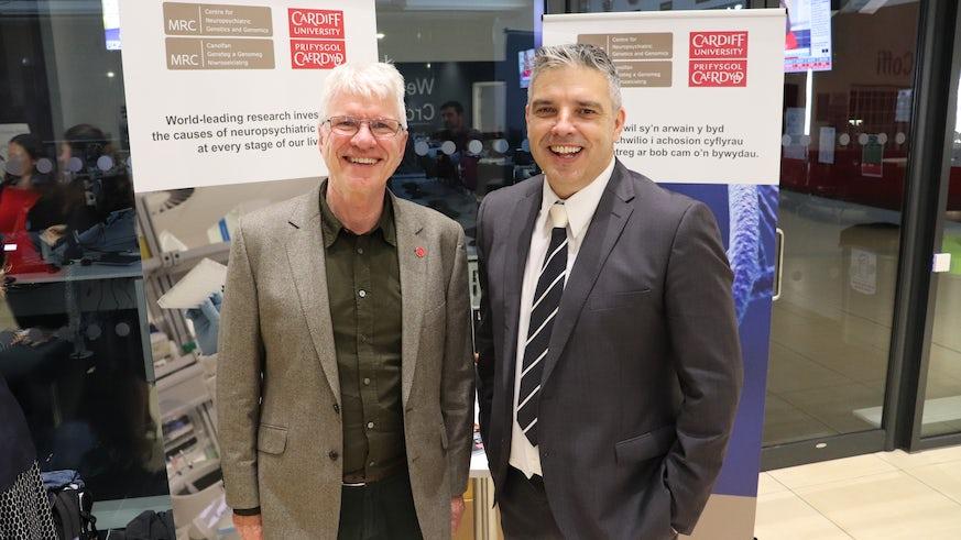 Professor Sir Michael Owen and Professor James Walters