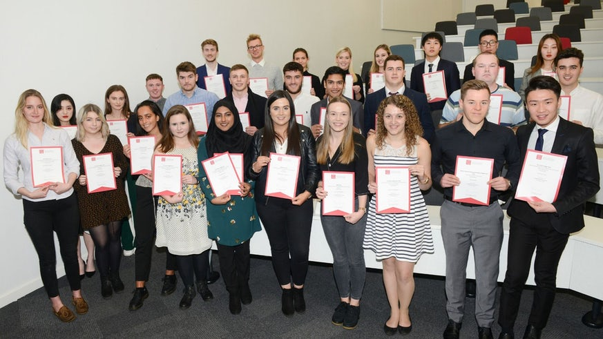 Group photo pf all UG prizewinners