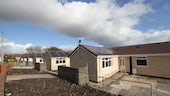 Refitted low-carbon Swansea bungalows
