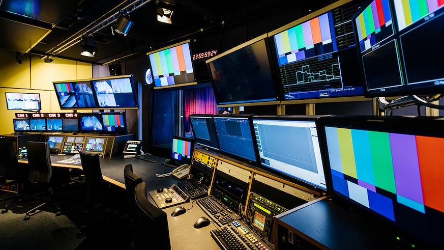A TV gallery