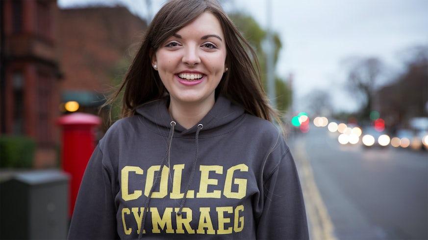 Coleg Cymraeg student