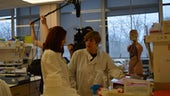 Film crew at the School of Biosciences